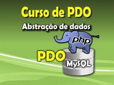 Curso de PHP abstração de dados com PDO